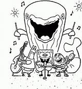 Gary Shrub Clipart Spongebob Coloring Getdrawings sketch template