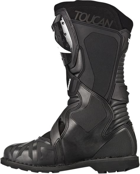 wide motorcycle shoes alpinestars toucan gore tex street motorcycle boot black