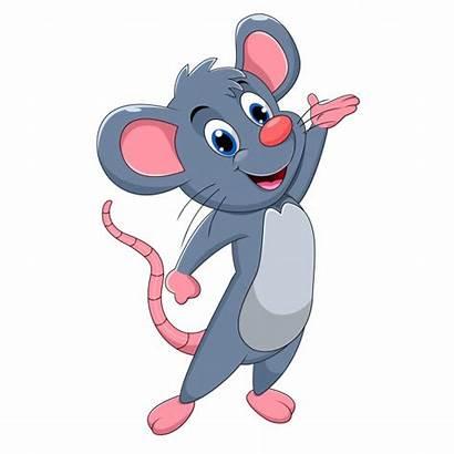 Mouse Cartoon Clipart Vector Mice Funny Premium