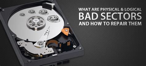 What Are Physical & Logical Hard Drive Bad Sectors, How To