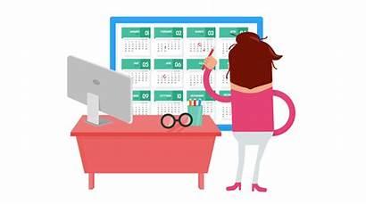 Planning Calendar Financial Wellness Employee Clipart Stress