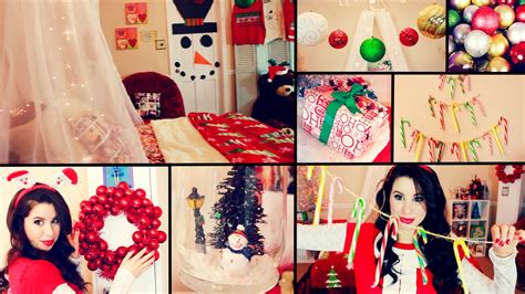 diy cute christmas room decor and organization easy