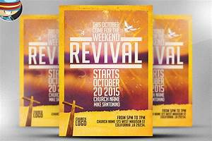 church revival flyer template flyer templates on With free church revival flyer template
