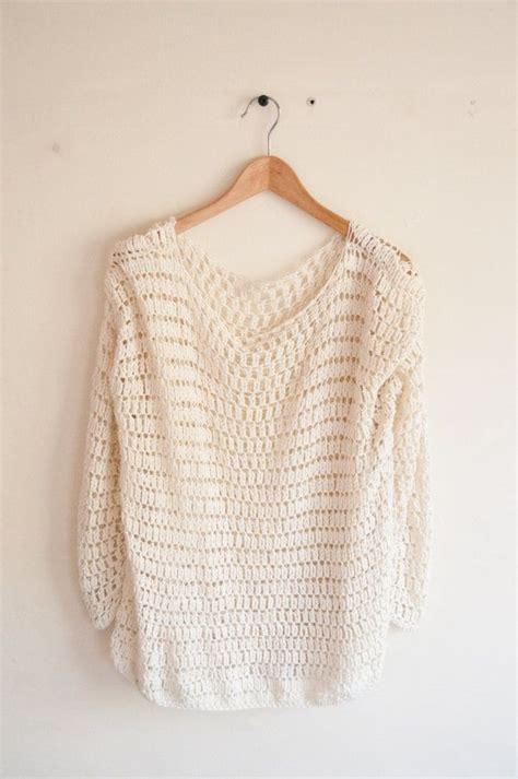 easy crochet sweater crochet pattern diy sweater crochet pattern easy