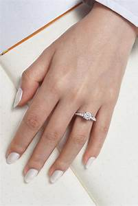 Diamond wedding rings vintage 14k white gold round for Wedding ring descriptions