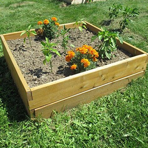 Infinite Cedar Raised Garden Bed • Insteading
