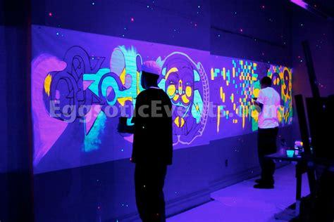 black light glow parties eggsotic events event design