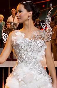 Jennifer Lawrence Wedding Dress Hunger Games Designer ...