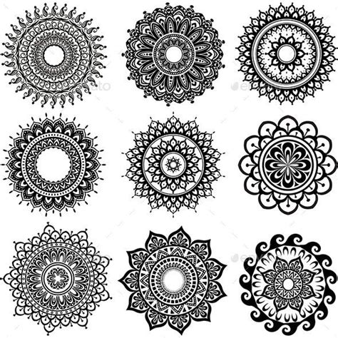 pin  pethodislereaal  vector patterns simple mandala