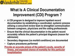 ppt clinical documentation in the inpatient setting With clinical documentation improvement software