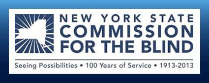 commission for the blind new york state commission for the blind logo
