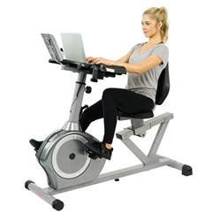 Recumbent Bike Fit Desk by Health Fitness Recumbent Desk Exercise Bike
