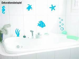 Bad Deko Türkis : fische seesterne muscheln badezimmer wc aufkleber wandtattoo wandaufkleber aufkleber und ~ Sanjose-hotels-ca.com Haus und Dekorationen