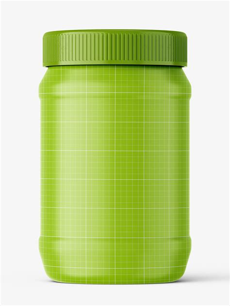 Includes special layers and smart objects for your amazing artworks. Peanut butter jar mockup - Smarty Mockups