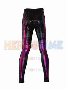 Briggs Pants Size Chart Jax Briggs Mortal Kombat Black Purple Shiny Metallic