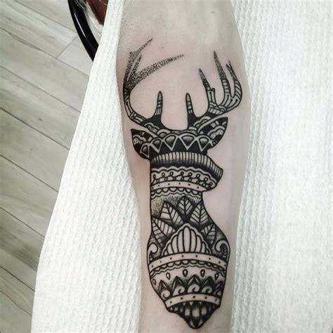 deer mandala love  tatuajes tatouage tatouage