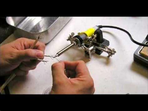 solder xlr audio connectors youtube