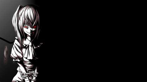 aesthetic black anime wallpapers