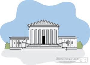 Us Supreme Court Building Clip Art