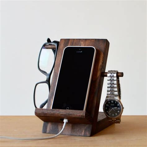 phone stand wooden phone stand madera plano para casa y ideas para