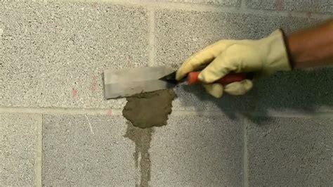 stop leaks  concrete walls youtube
