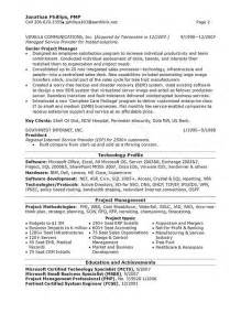 resume for technical program manager technical recruiter resume sales technical lewesmr