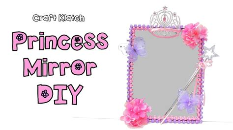diy princess room decor mirror dollar store craft