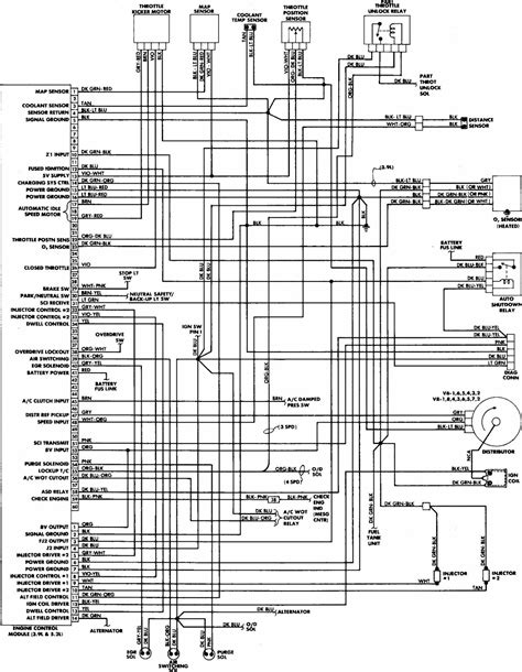 1988 Chevy Truck Wiring Diagram Pdf by Dodge W100 1988 Engine Wiring Diagram All About