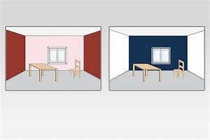 Welche Wand Farbig Streichen : raumwirkung breite und tiefe ~ Orissabook.com Haus und Dekorationen