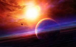 Planets sun stars wallpaper   1920x1200   #34583