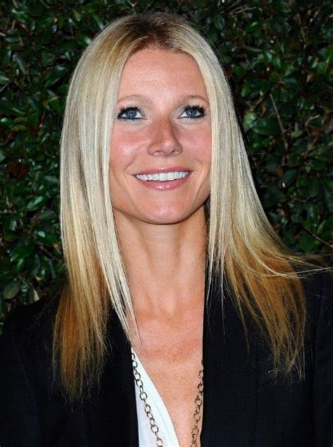 gwyneth paltrow long straight hairstyles for women long