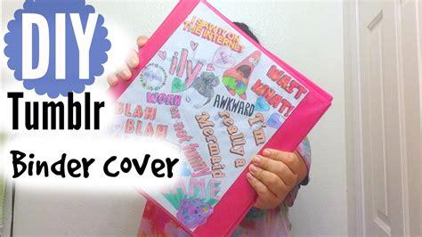 Tumblr Binder Cover Templates Emoji by Back To School Diy Tumblr Binder Cover Youtube