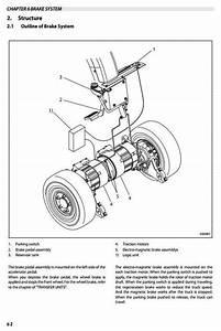 Mitsubishi Electric Forklift Truck Fb16pn  Fb16cpn  Fb18pn