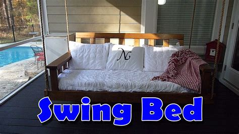 swing bed diy youtube