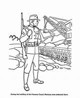 Coloring Pages Forces Canal Armed Marine Army Corps Marines Corp Print Panama Usa Colouring Sheets Sheet Drawings Force Air Printables sketch template