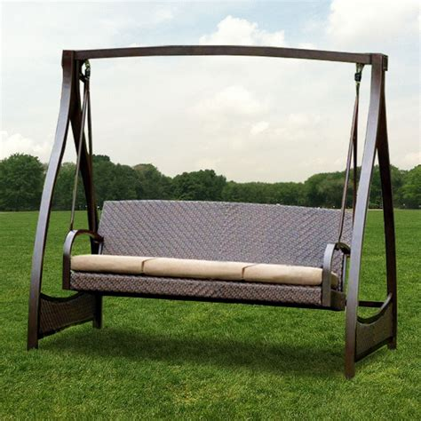 patio swing set costco outdoor furniture design and ideas