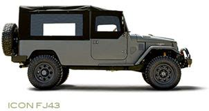 icon fj43 a trip down south suv showdown land rover comes out on top