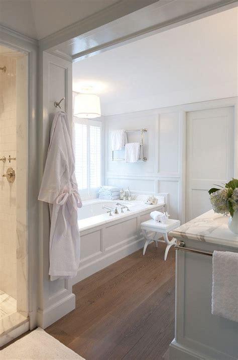 White Classic Master Bathroom