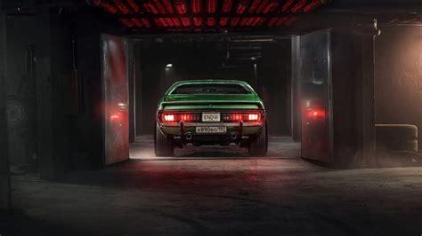 car garage tuning wallpaper