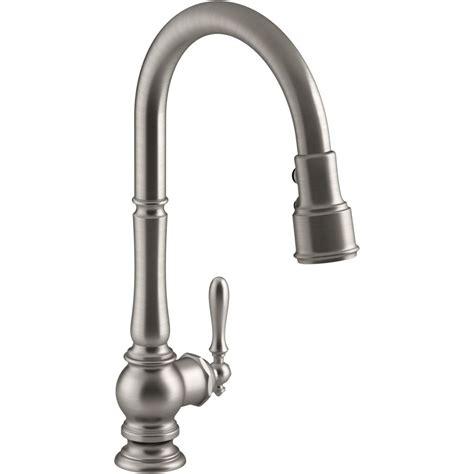 best brand for kitchen faucets kohler k 99259 vs artifacts vibrant stainless steel
