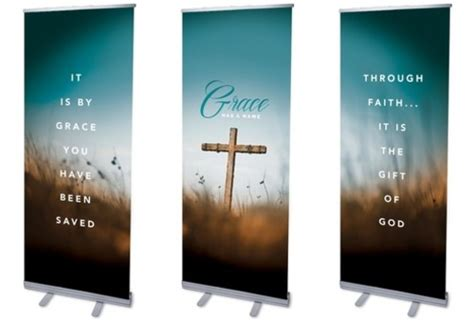 grace    banner church banners outreach marketing