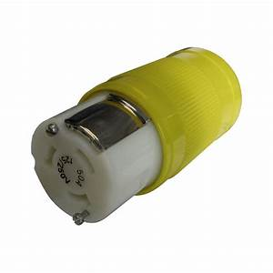 Marinco U00ae 6364crn  250v 3p4w Locking Connector