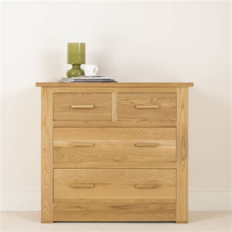 Cheap Bedroom Chest Of Drawers Uk by Quercus Solid Oak Chest Of Drawers 2 2 Con Tempo Furniture