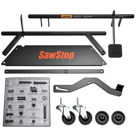 sawstop table saw dimensions sawstop mobile base mb cns 000 rockler woodworking tools