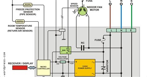 Wiring Diagram Ac Sharp Inverter