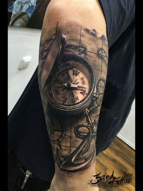 kompass unterarm dukelucky kompass tattoos bewertung de