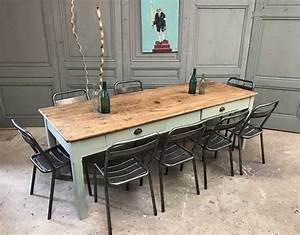 Table Ancienne De Ferme : ancienne table de ferme en ch ne massif ~ Teatrodelosmanantiales.com Idées de Décoration