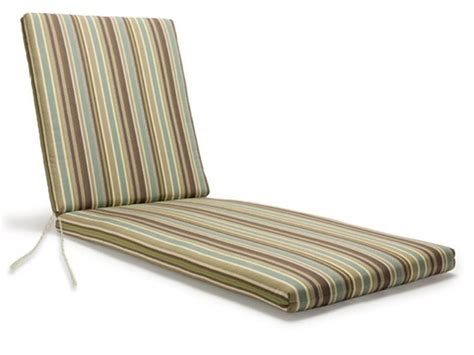 Striped Cushion Lounge Back Seat Chair Patio Furniture
