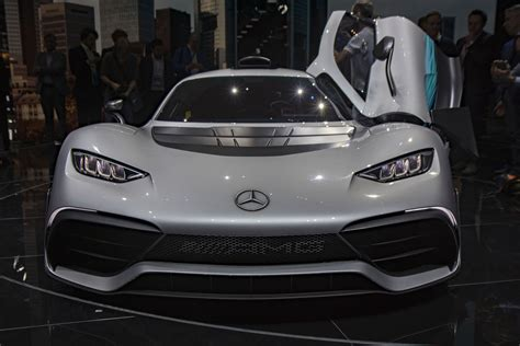 Mercedes-amg Project One Hybrid Unveiled At The 2017