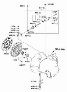 4171039001 - Hyundai Cylinder Assembly